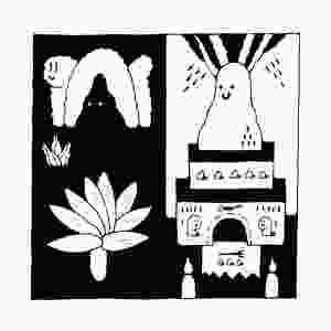 Title: The Night God  Medium: ink and paper   Size: 20cm x 20cm   Date Created: 2020  About: I love drawing temples, idols and evil Gods,  who come out at night when we sleep.  Worship the Night God,  bow to him!