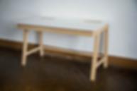 Tabouret, design, meuble, mobilier, biarritz, pays basque, chêne, bureau, corian, école
