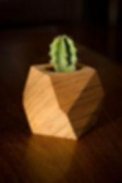 Tabouret, design, meuble, mobilier, biarritz, pays basque, noyer, couleur, plante ,décoration, pot, facettes