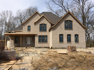 Progress Photo from Becker Road Project in Highland, IL