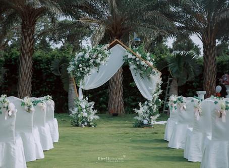 戶外婚禮專人布置-星願拱門