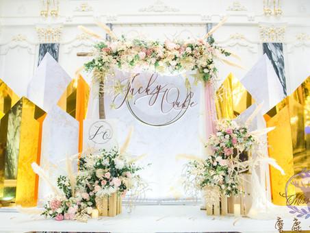 客製化婚禮現場專人佈置-巴洛克莊園