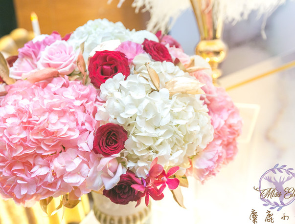 麋鹿小姐 公版婚禮背板套組 l  婚禮佈置  煙水晶織花
