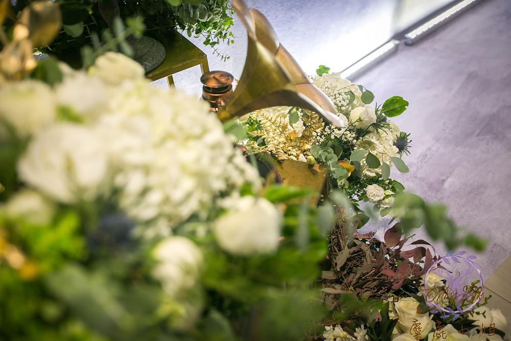晶麒莊園婚禮佈置 婚禮佈置 婚禮背版 客製婚禮背版