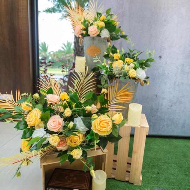 麋鹿小姐 婚禮背板出租l 花間夜曲