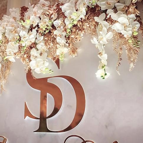 麋鹿小姐婚禮佈置 懷特公爵