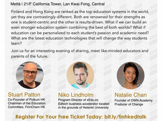 The Future of Education event HK