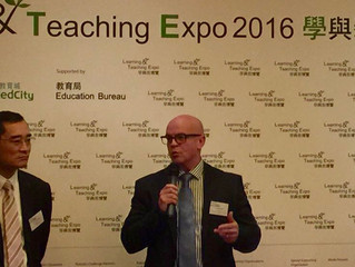 Media Lunch in HK launching the Learning and Teaching show HK 8-10Dec