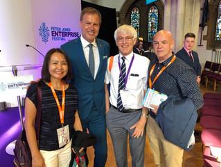 ENTFEST UK, the Peter Jones Enterprise festival, entrepreneurship for young students.