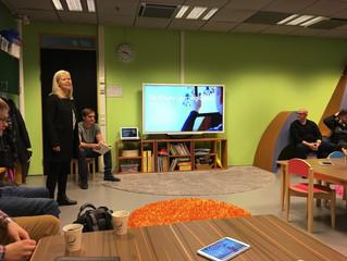 Great informal talk at Helsinki university, Playful Learning Centre