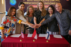 First Entrepreneurial Hybrid Kindergarten in Asia, using Finnish and Asian combined approaches.