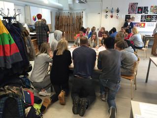 Helsinki Day 2... School interaction
