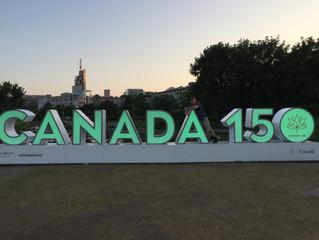 Canada 150 yrs, Finland 100 yrs...
