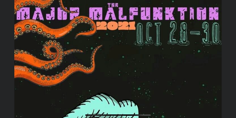 Two nights at Major Malfunktion Halloween Party
