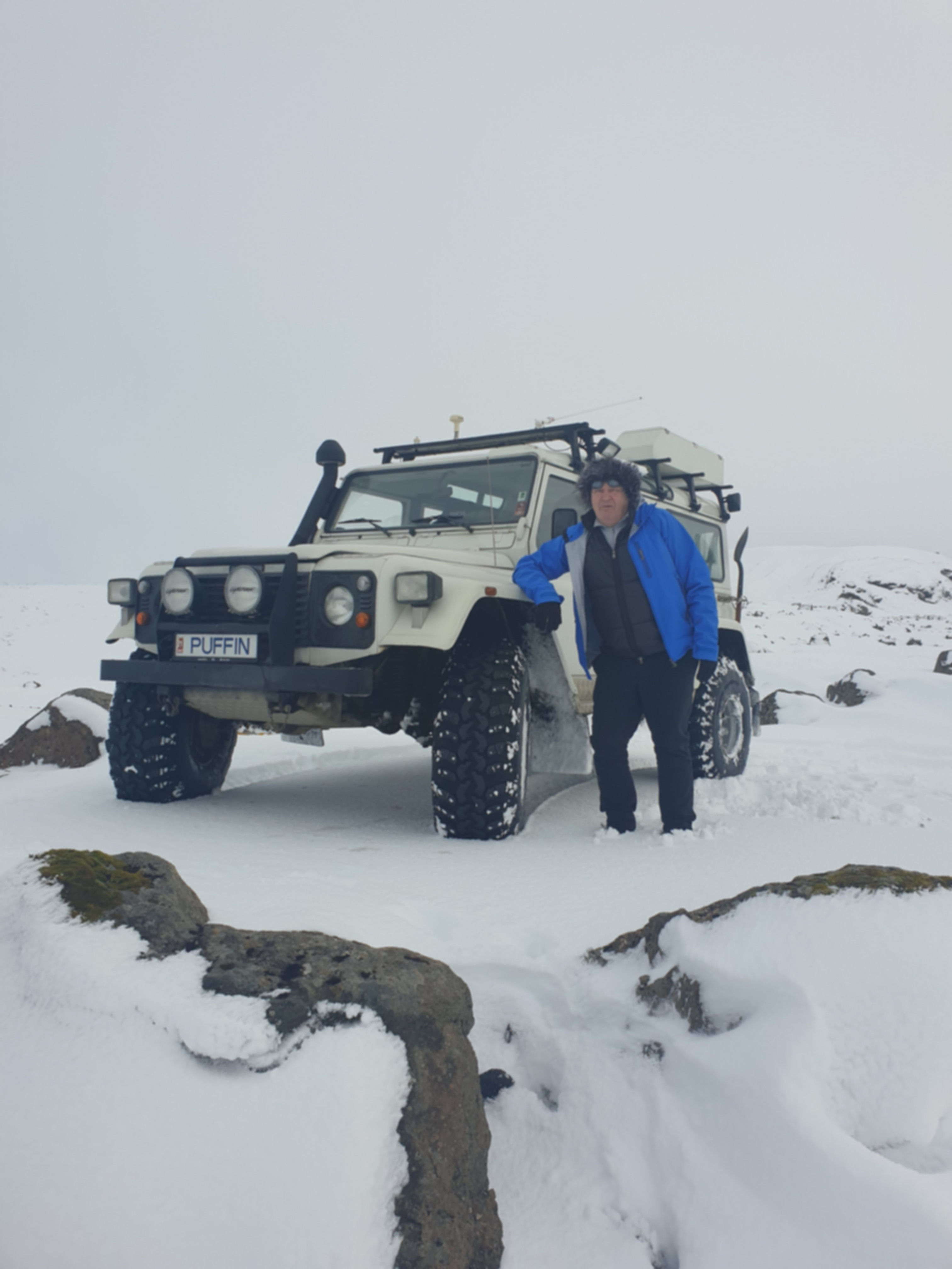 Our Puffin -Land Rover Defender