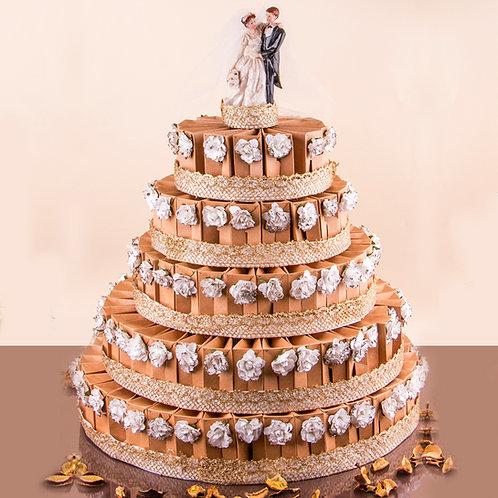 עוגת דרגייה 5 קומות