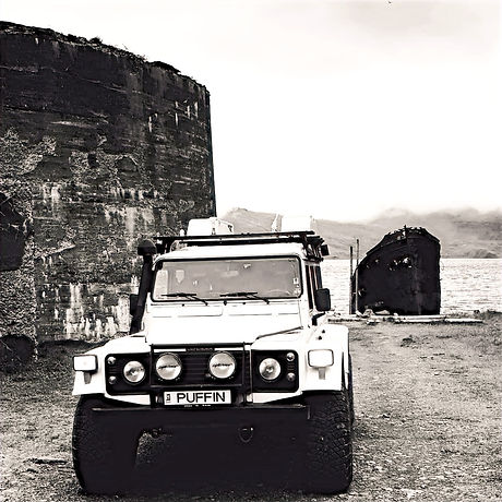 puffin Land Rover Defender