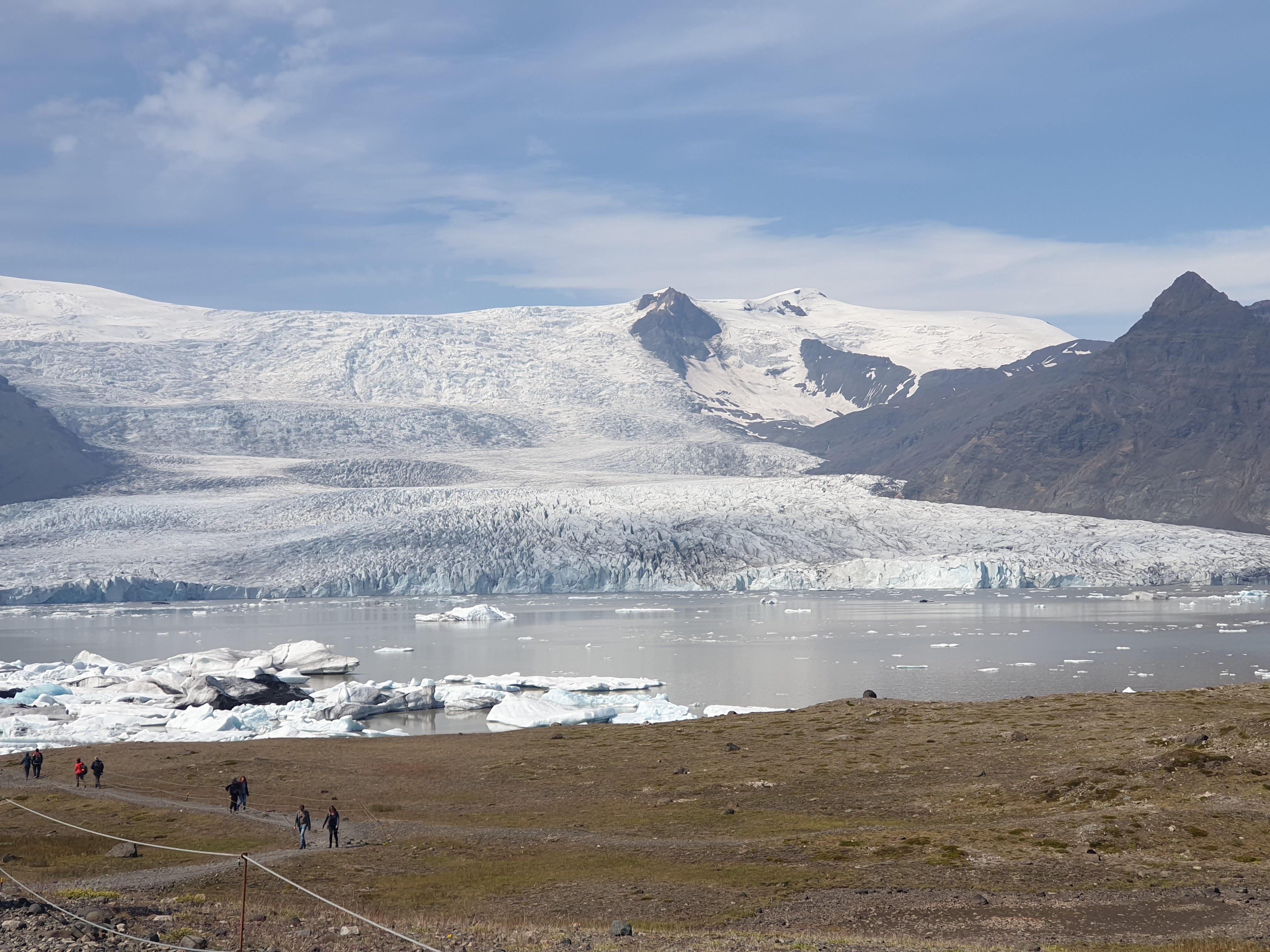 South coast, glacier lagoon and ..