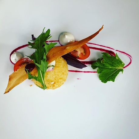Starter at The Church, Restaurant Bar and Cafe, Letterkenny, County Donegal