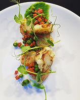 Starter at The Church, Restaurant, Bar and Café, Letterkenny, County Donegal