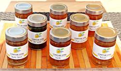 Our jams : several varieties