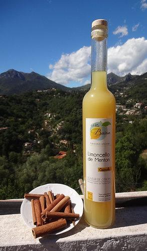 Limoncello au citron de Menton et Cannelle