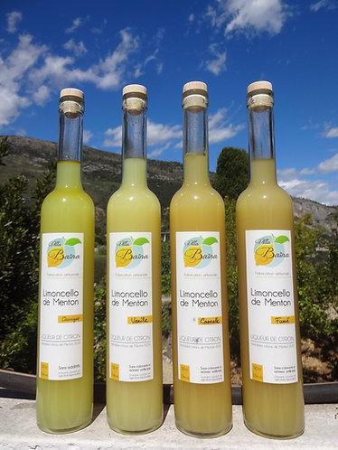 Limoncello au citron de Menton et Vanille Bourbon