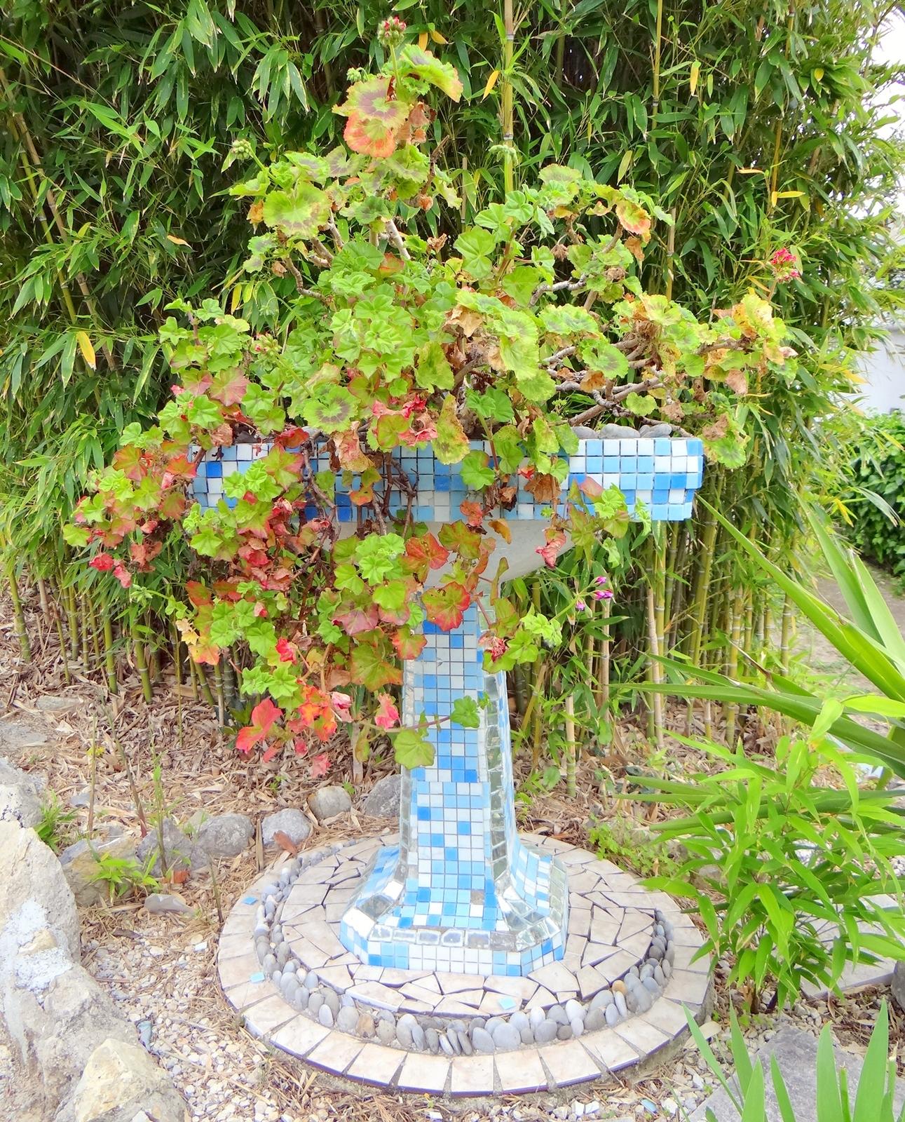 Sculpture du jardin