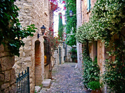 Small street of Eze