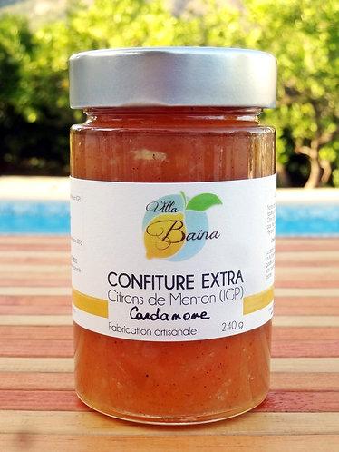Confiture Extra de citrons de Menton à la Cardamome / Lemon jam with cardamome
