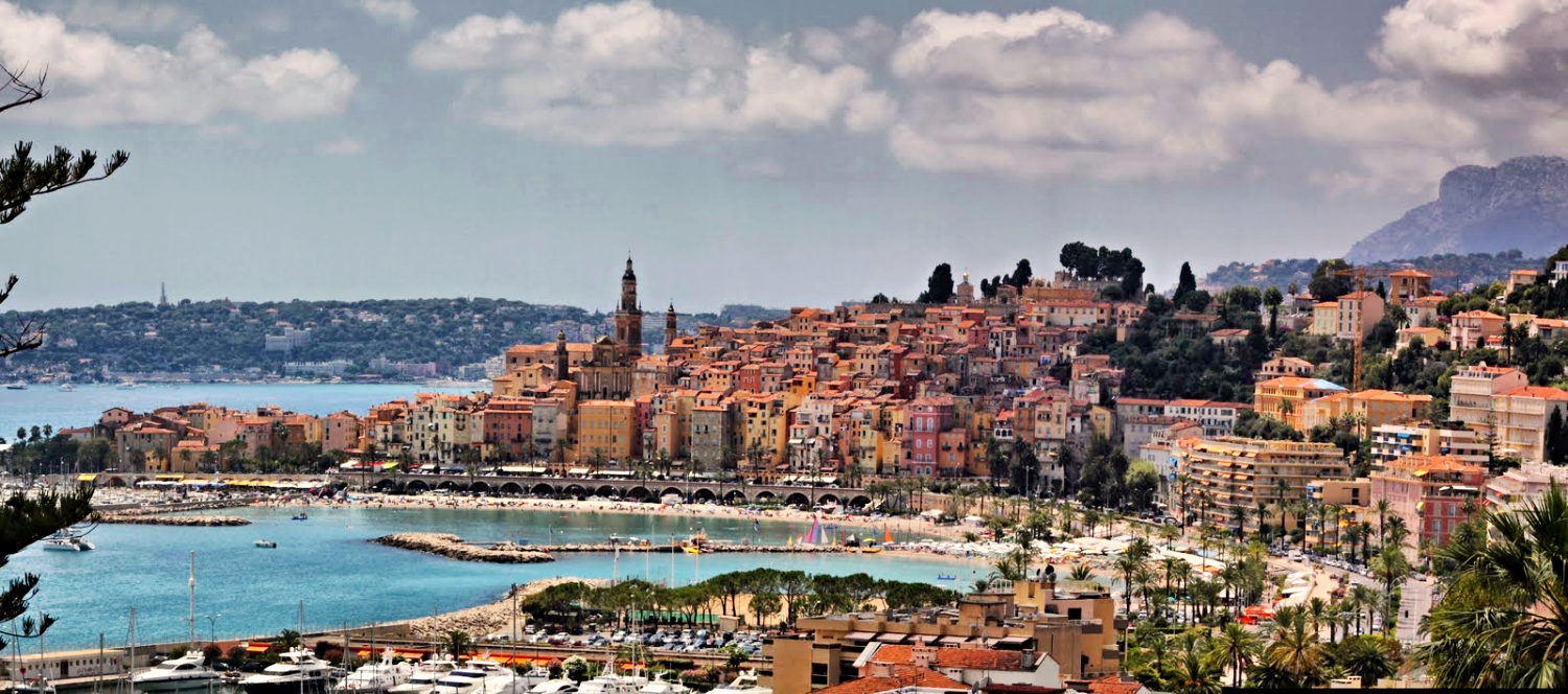 Old town of Menton