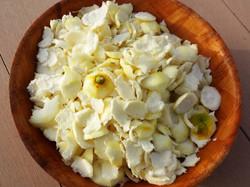 Peau blanche (amère) des citrons