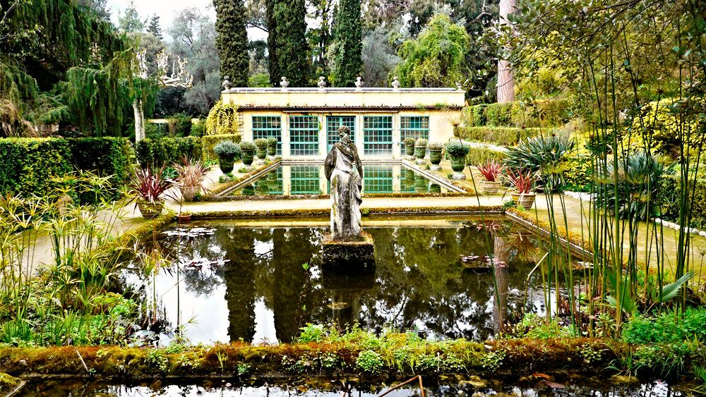 Garden in Menton