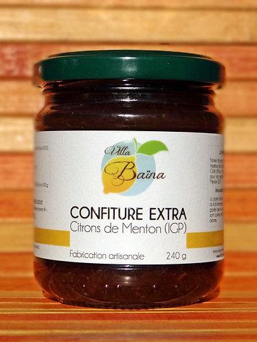 Confiture Extra de citrons de Menton / Natural lemon jam