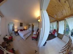 Chambre et son salon privatif