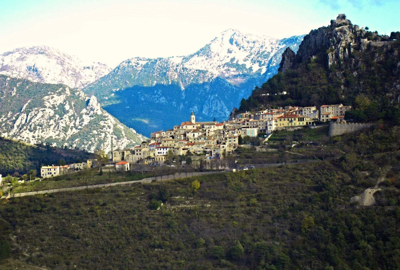 Sainte Agnes village