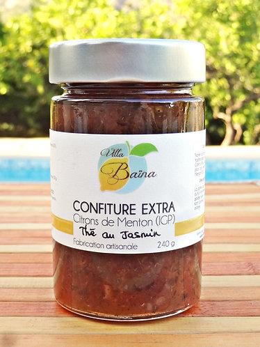 Confiture Extra de citrons de Menton au Thé Jasmin / Lemon jam with jasmine tea