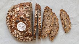 Demeter Brot mit Sojabohnen