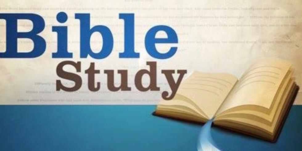 NO BIBLE STUDY TONIGHT