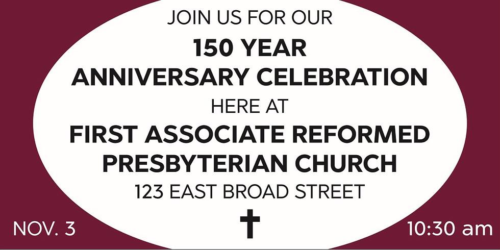 150 Year Anniversary Celebration