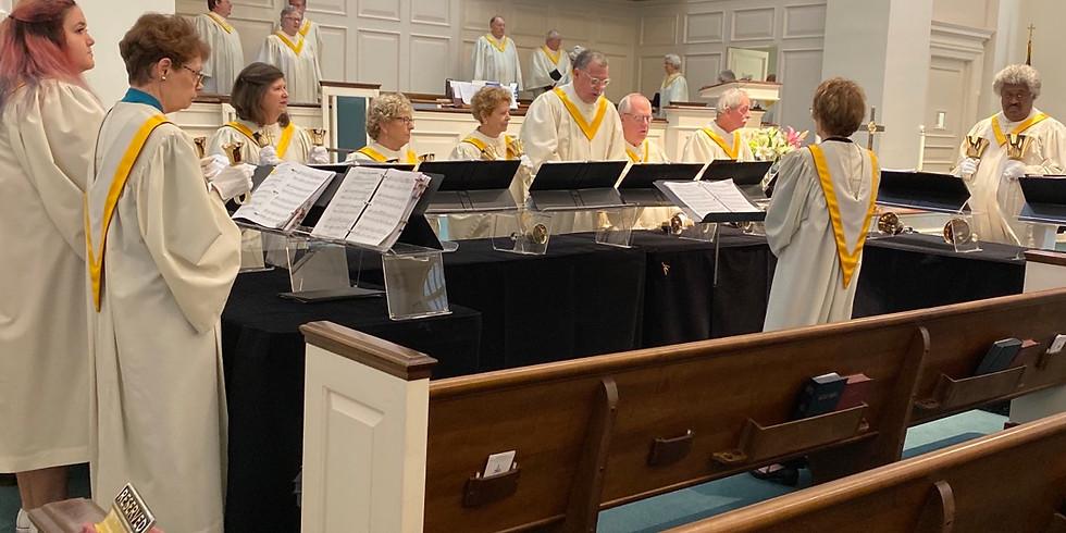 Hand Bell Choir Practice