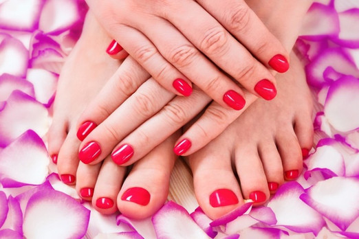 Spa services available done by supervised students