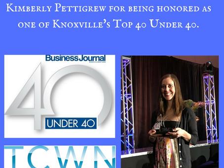 Kudos to TCWN's Kimberly Pettigrew!!!!