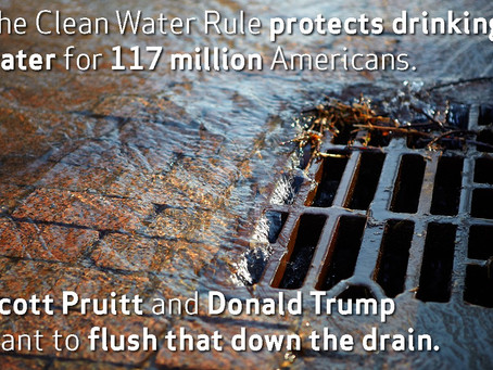 EPA to hold teleconference for general public comments on Repeal of the 2015 Clean Water Rule