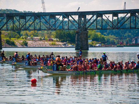 Dragon Boats Start Paddling Down The Tennessee River This Saturday!!!