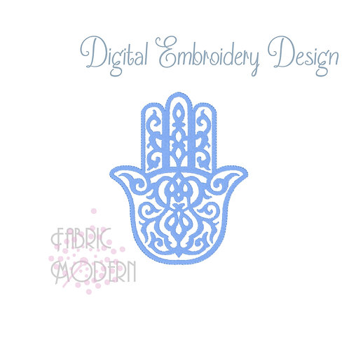 Hamsa Machine Embroidery Design