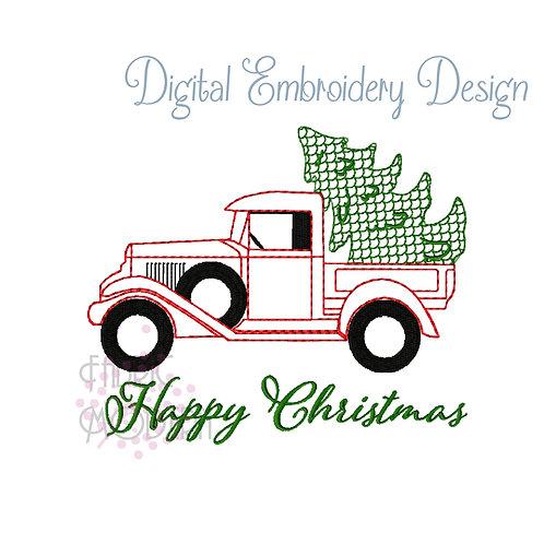 Christmas Tree Farm Truck #1018