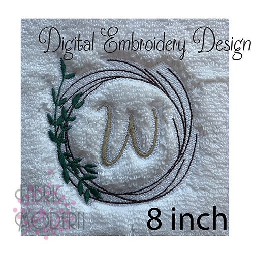 complete MONOGRAM for towels 1028P-8