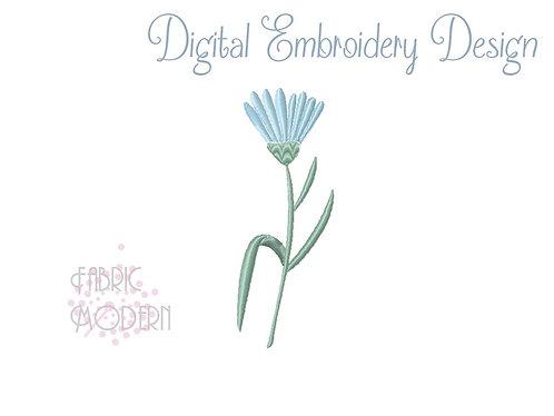 Wildflower Machine Embroidery Design