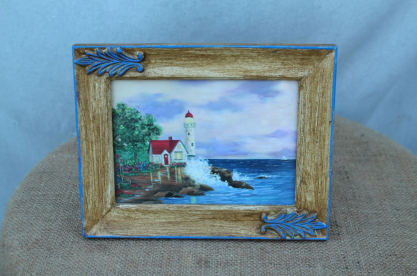 Small Light House Painting